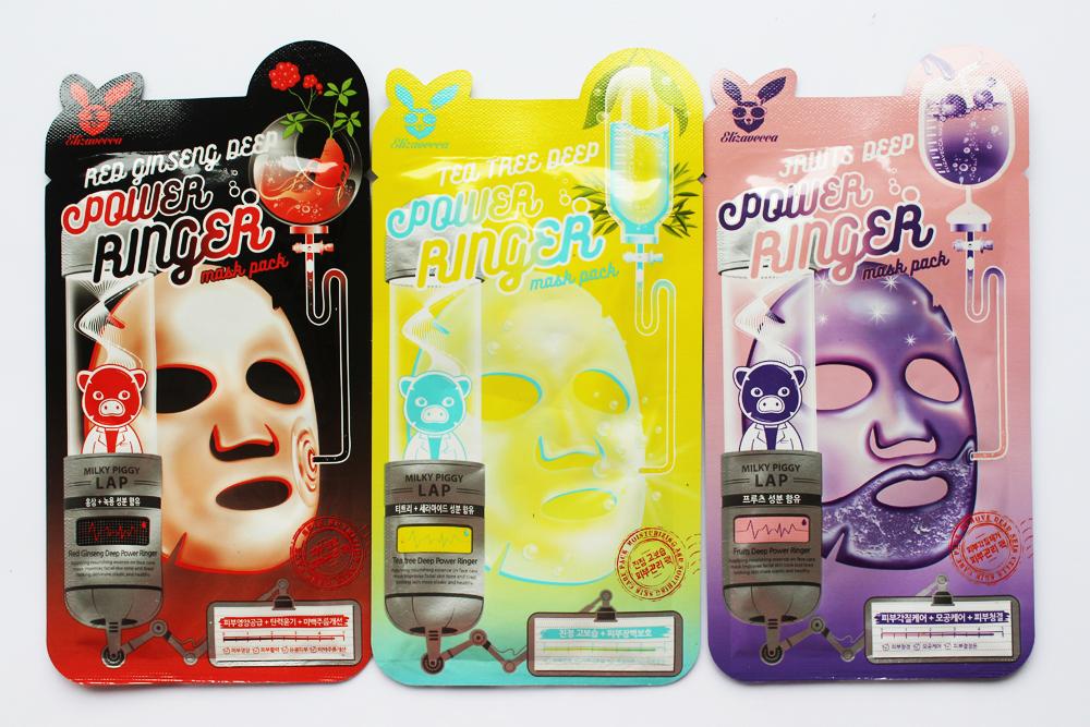 Гидрогелевые и тканевые маски для лица