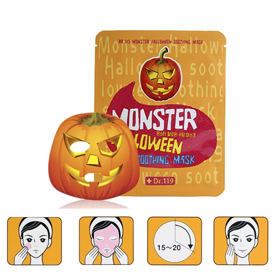 Baviphat Dr.119 Monster Halloween Soothing Mask