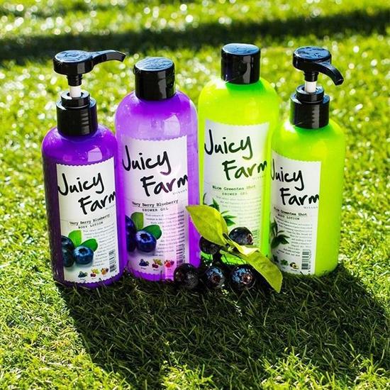 Missha Juicy Farm Shower Gel (Nice Green Tea Shot)