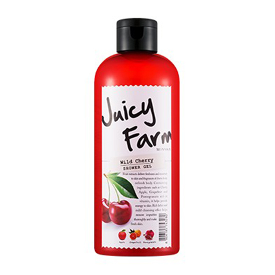 Missha Juicy Farm Shower Gel (Wild Cherry)