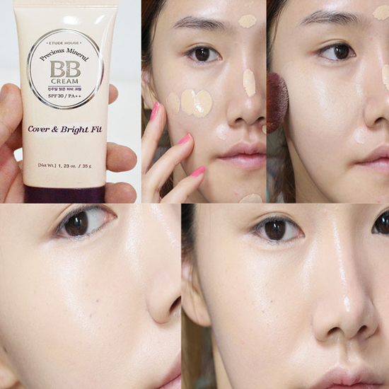 Etude House Precious Mineral BB Cream Cover & Bright Fit