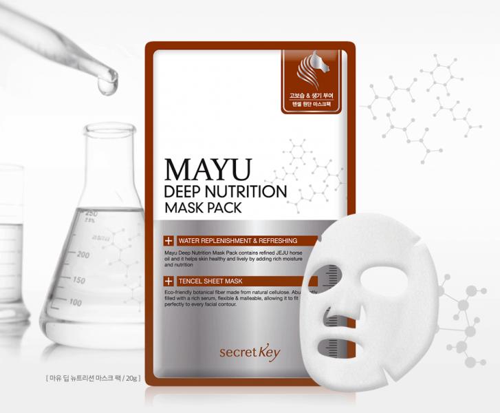 Secret Key MAYU Healing Mask Pack