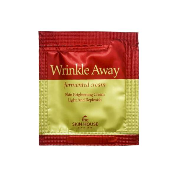 Крем с 6-летним красным женьшенем Пробник The Skin House Wrinkle Away Fermented Cream (3 мл)