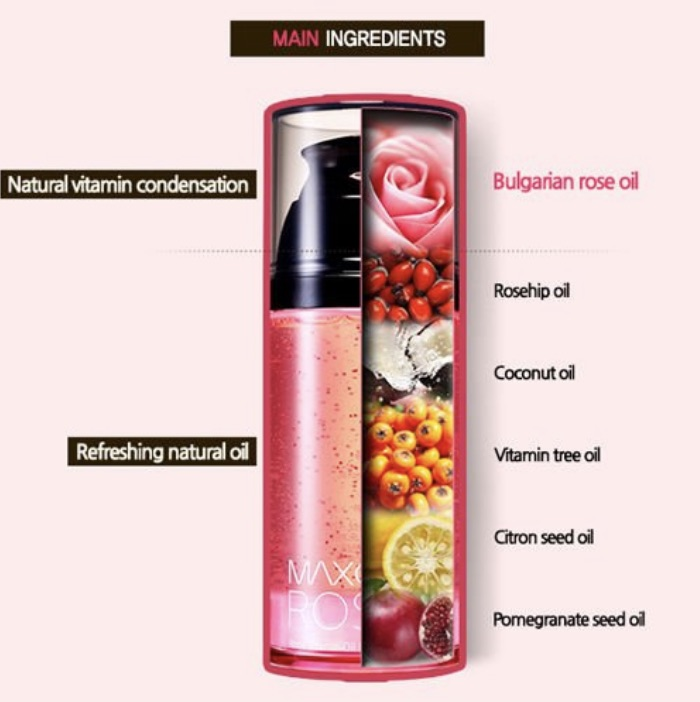Maxclinic Rose Vitamin Oil Foam