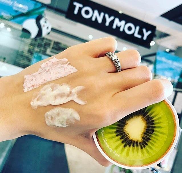 Tony Moly Fruity Capsule Tok Tok Sleeping Pack