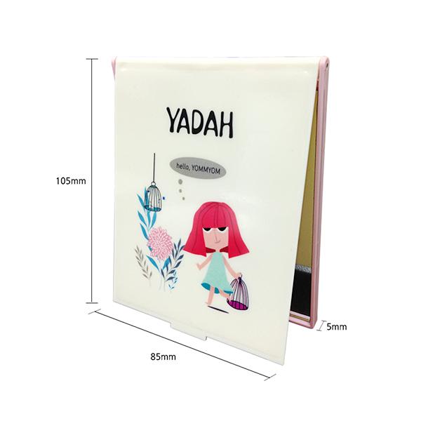 Yadah Folding Mirror Picnic