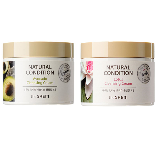 The Saem Natural Condition Cleansing Cream