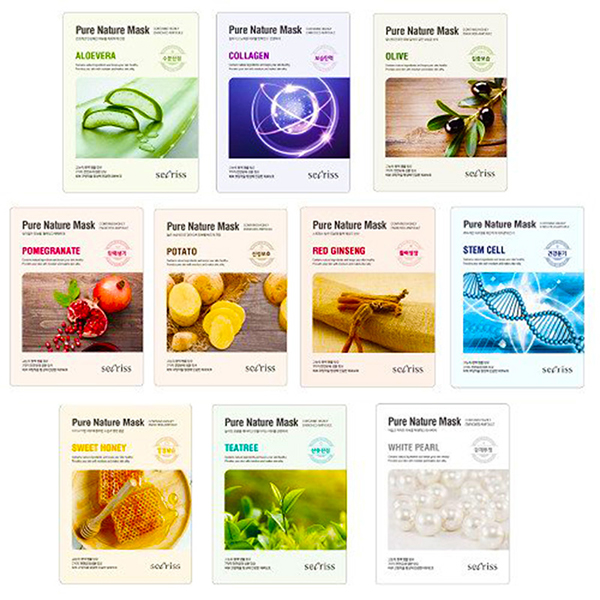 Anskin Secriss Pure Nature Mask Pack