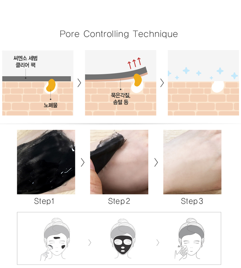 The Saem See & Saw Sebum Clear Pack