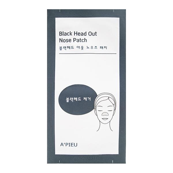 Пластырь от черных точек для носа, 1шт A'PIEU Black Head Out Nose Patch