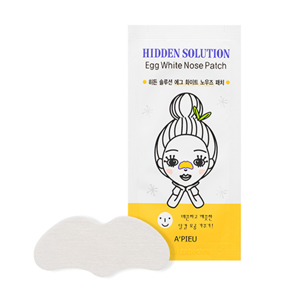A'PIEU Hidden Solution Egg White Nose Patch