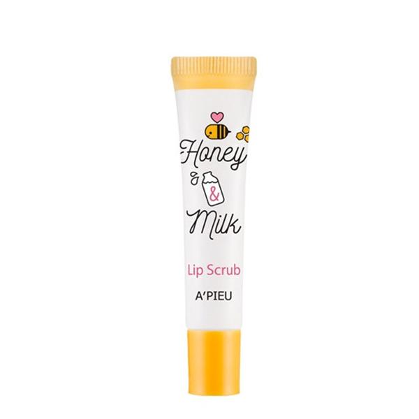 Скраб для губ с медом и молочными протеинами A'PIEU Honey & Milk Lip Scrub
