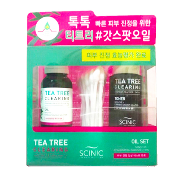 Scinic Tea Tree Clearing Oil Set