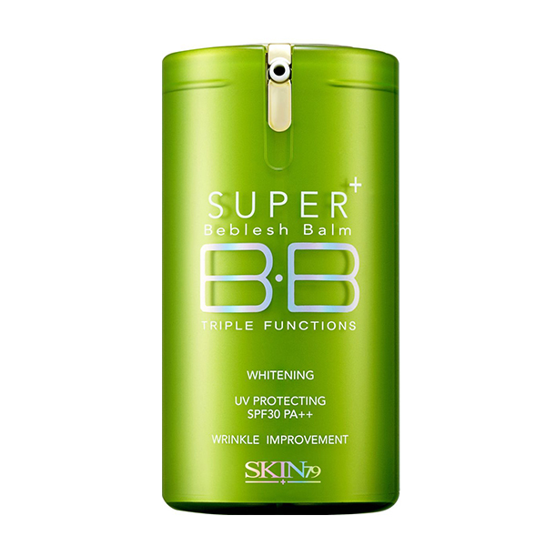 Многофункциональный ББ крем Skin79 Super Plus Beblesh Balm Triple Functions Green SPF30