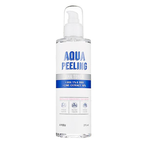 Тонер с AHA-кислотами A'PIEU Aqua Peeling AHA Toner