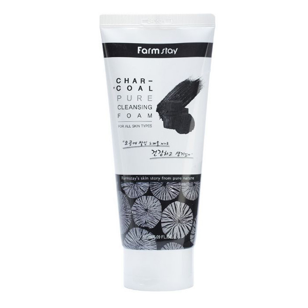 FarmStay Charcoal Pure Cleansing Foam