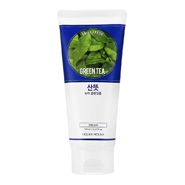 "Очищающая пенка для лица ""Дэйли Фреш""  Holika Holika Daily Fresh Green Tea Cleansing Foam"