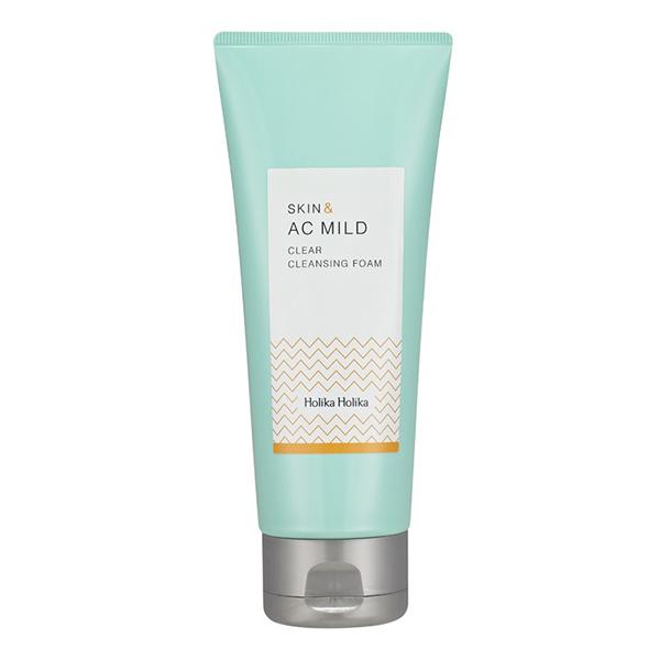 Holika Holika Skin and A.C. Mild Clear Cleansing Foam
