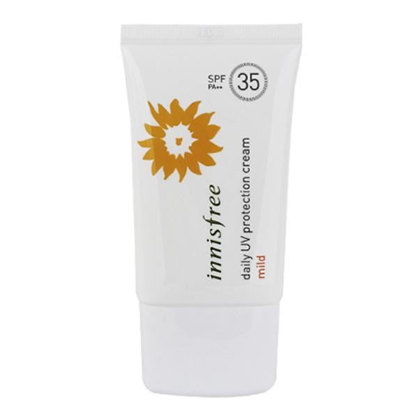 Мягкий солнцезащитный крем на каждый день Innisfree Daily UV Protection Cream Mild SPF35/PA++