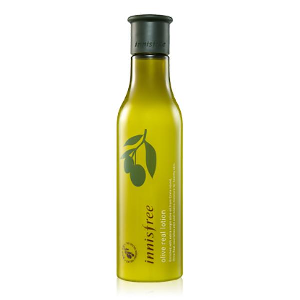Увлажняющий лосьон для лица с маслом оливы, 160 мл Innisfree Olive Real Lotion