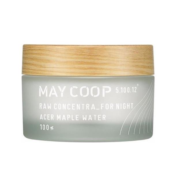 Ночной крем с кленовым соком Maycoop Raw Concentra for Night