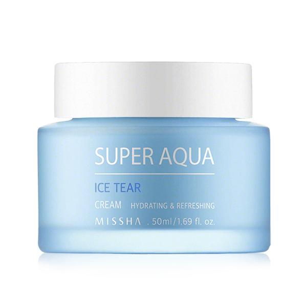 Увлажняющий крем для лица с ледниковой водой Missha Super Aqua Ice Tear Cream