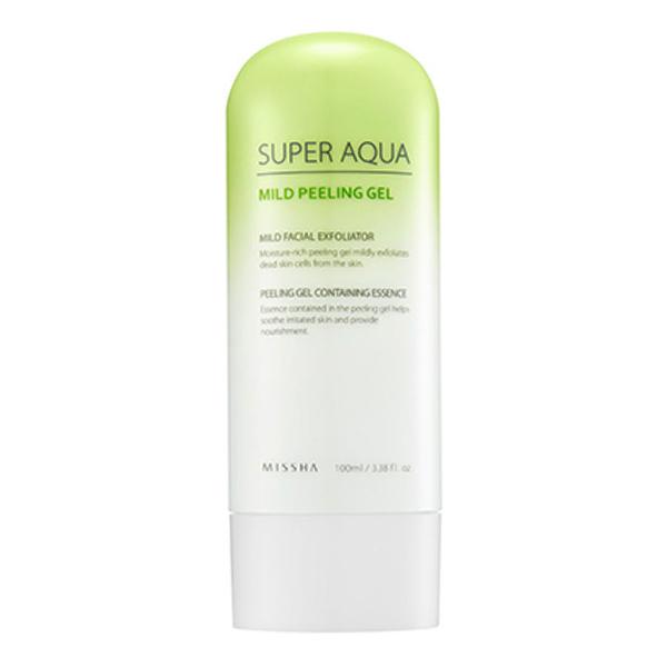 Мягкая пилинг-скатка Missha Super Aqua Mild Peeling Gel