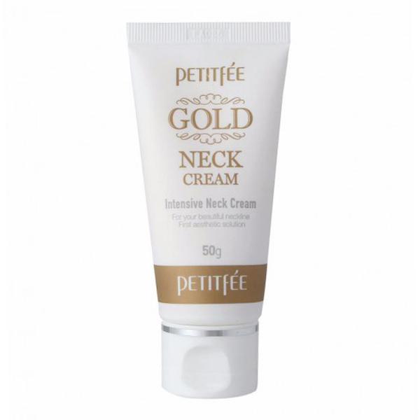 Антивозрастной крем для шеи Petitfee Gold Neck Cream