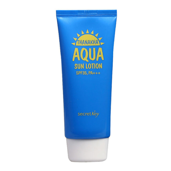 Увлажняющий солнцезащитный лосьон SPF 35 PA+++ Secret Key Thanakha Aqua Sun Lotion SPF35 PA+++