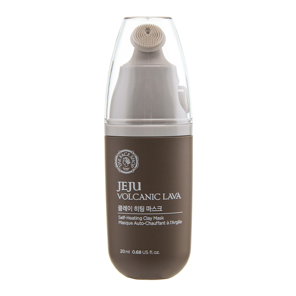 The Face Shop Jeju Volcanic Lava Self Heating Clay Mask