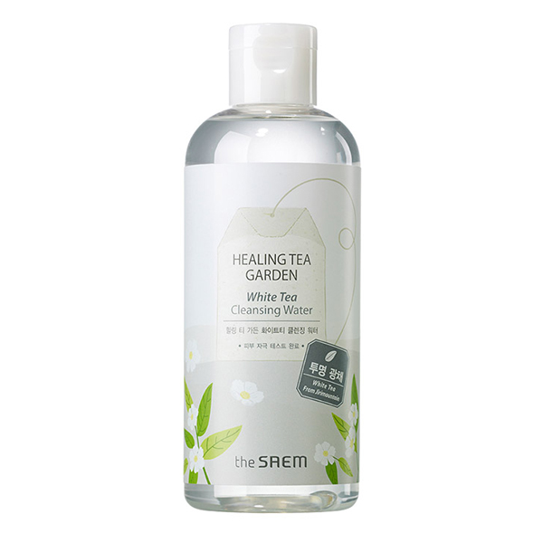 Мицеллярная вода с белым чаем  The Saem Healing Tea Garden White Tea Cleansing Water
