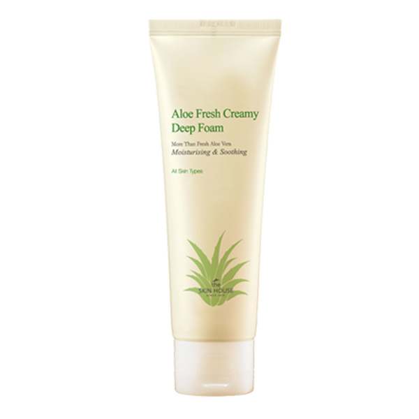 The Skin House Aloe Fresh Creamy Deep Foam
