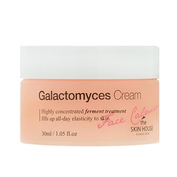 Крем с галактомисисом для повышения эластичности кожи  The Skin House Face Calming Galactomyces Cream