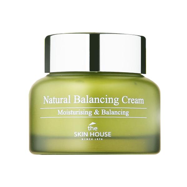 Балансирующий крем для комбинированной кожи The Skin House Natural Balancing Cream