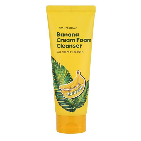 Tony Moly Magic Food Banana Cream Foam Cleanser