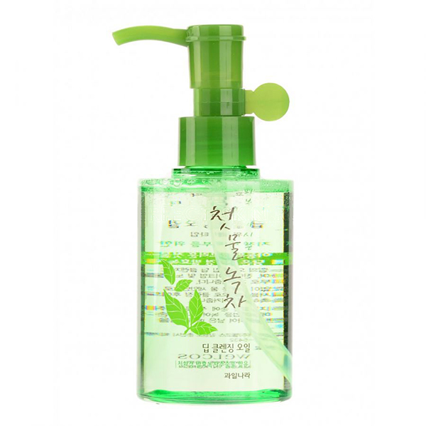 Welcos Green Tea Deep Cleansing Oil