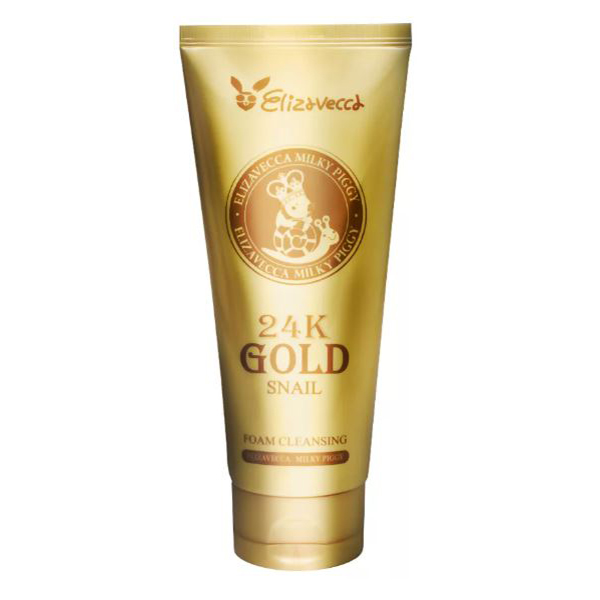 Elizavecca 24k Gold Snail Cleansing Foam