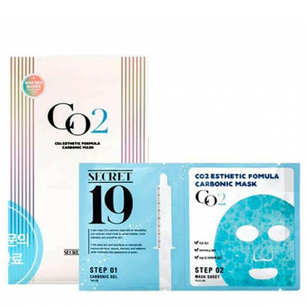 Esthetic House Secret19 CO2 Esthetic Formula Carbonic Mask