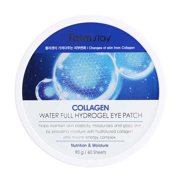 Патчи для глаз с коллагеном FarmStay Collagen Water Full Hydrogel Eye Patch