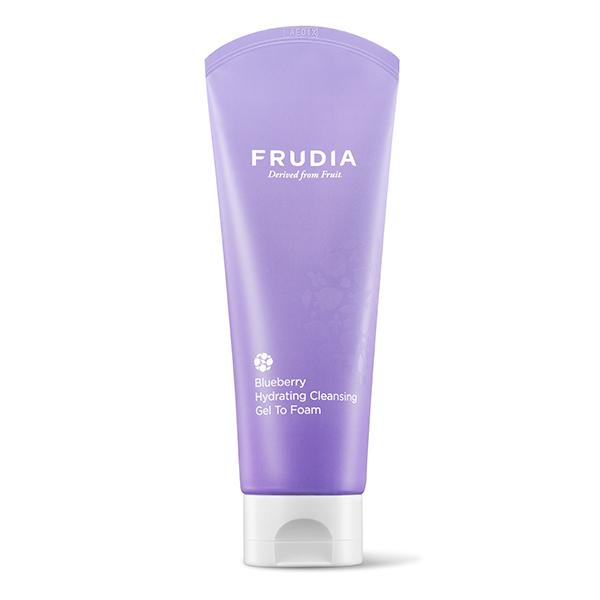 Увлажняющая гель-пенка с экстрактом черники Frudia Blueberry Hydrating Cleansing Gel To Foam