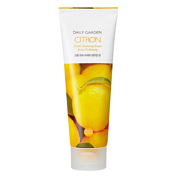 Holika Holika Daily Garden Goheung Citron Fresh Cleansing Foam