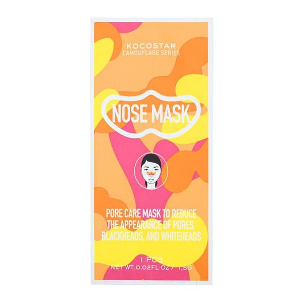 Патч для удаления чёрных точек на носу Kocostar Camouflage Nose Mask