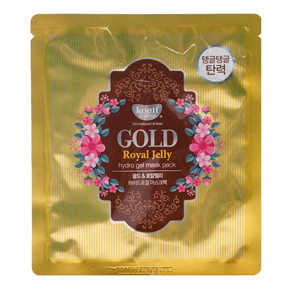 Koelf Hydro Gel Mask Pack (Jewel Series) Gold & Royal Jelly