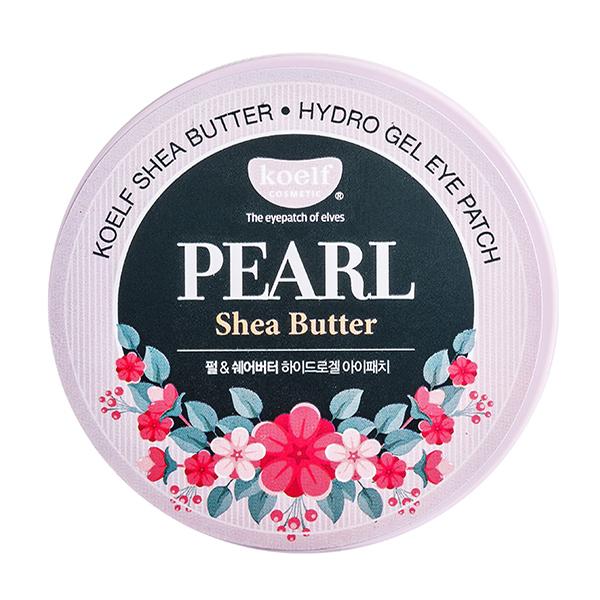 Питательные гидрогелевые патчи с маслом ши 60шт Koelf Hydro Gel Pearl & Shea Butter Eye Patch