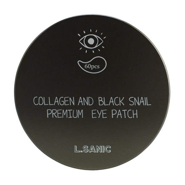 L'Sanic Collagen and Black Snail Premium Eye Patch