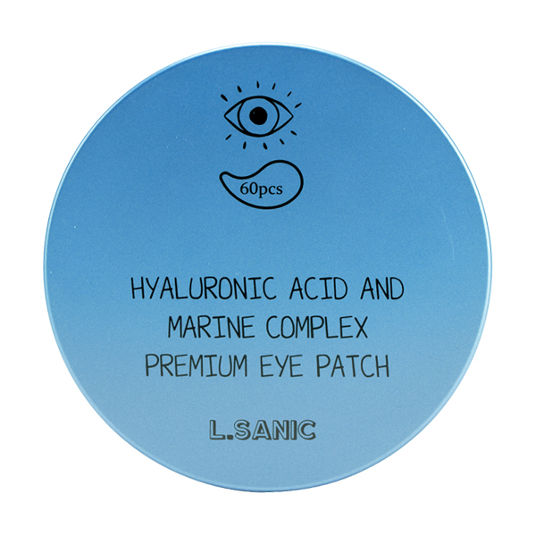 L.Sanic Hyaluronic Acid And Marine Complex Premium Eye Patch