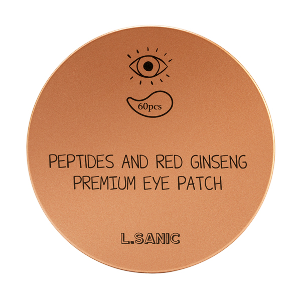 L.Sanic Peptides and Red Ginseng Premium Eye Patch