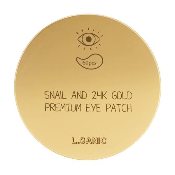 L'Sanic Snail and 24K Gold Premium Eye Patch
