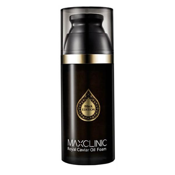Масло-пенка с чёрной икрой Maxclinic Black Royal Caviar Oil Foam