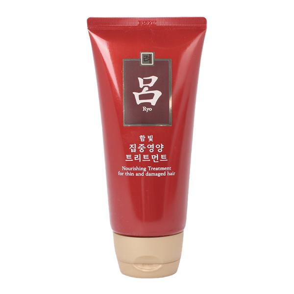 Питательная маска для поврежденных тонких волос Ryo Hambit Intensive Nutrition Treatment